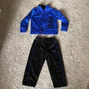Puma track suit, Size 2T